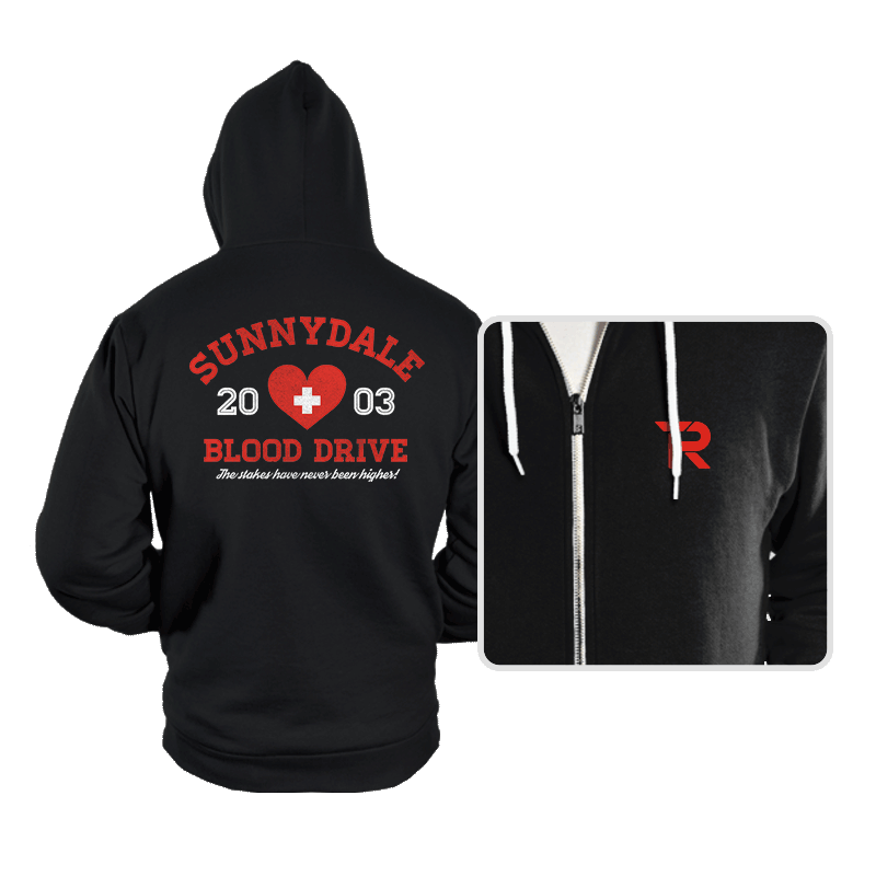 Blood Drive 2003 - Hoodies - Hoodies - RIPT Apparel