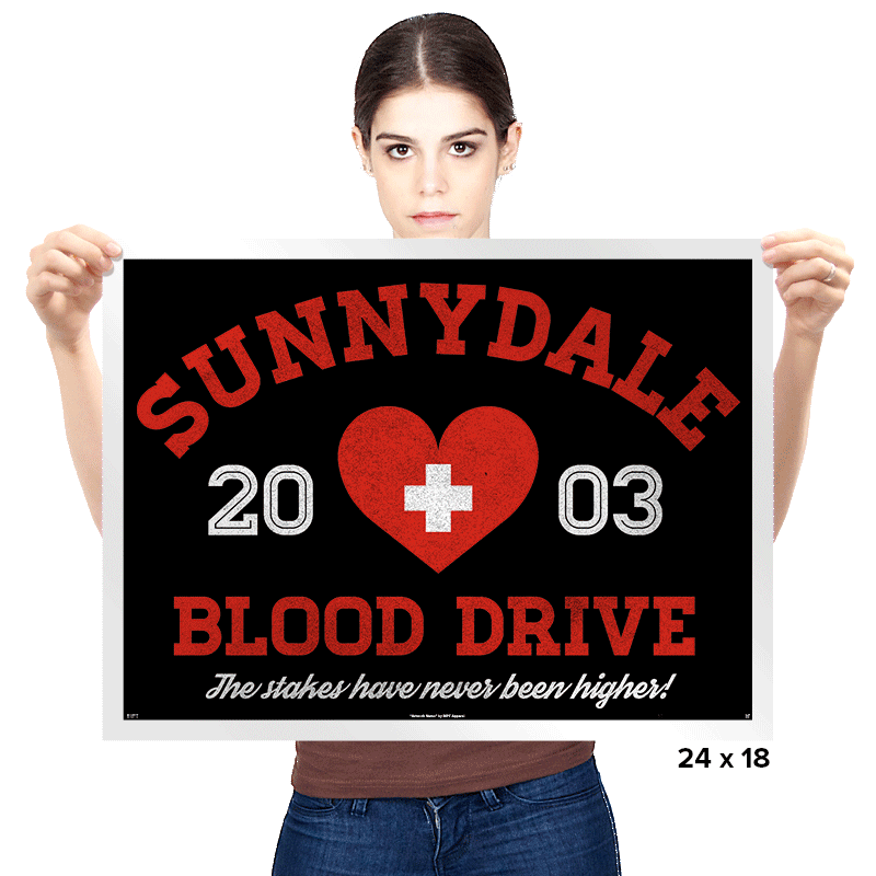 Blood Drive 2003 - Prints - Posters - RIPT Apparel
