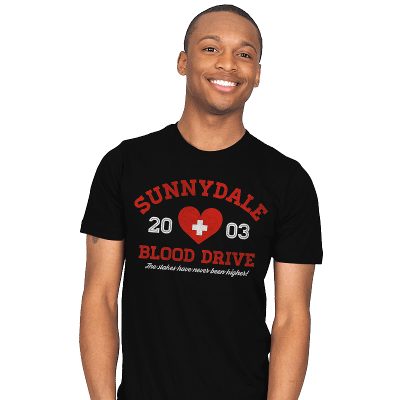 Blood Drive 2003 - Mens - T-Shirts - RIPT Apparel
