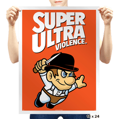 Super Ultra Violence - Prints - Posters - RIPT Apparel