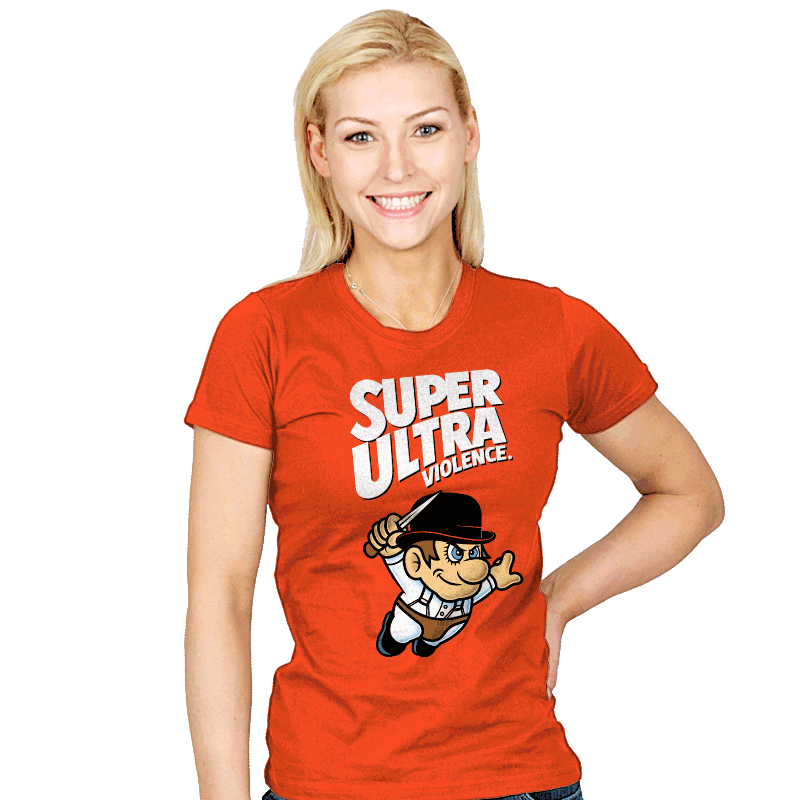 Super Ultra Violence - Womens - T-Shirts - RIPT Apparel