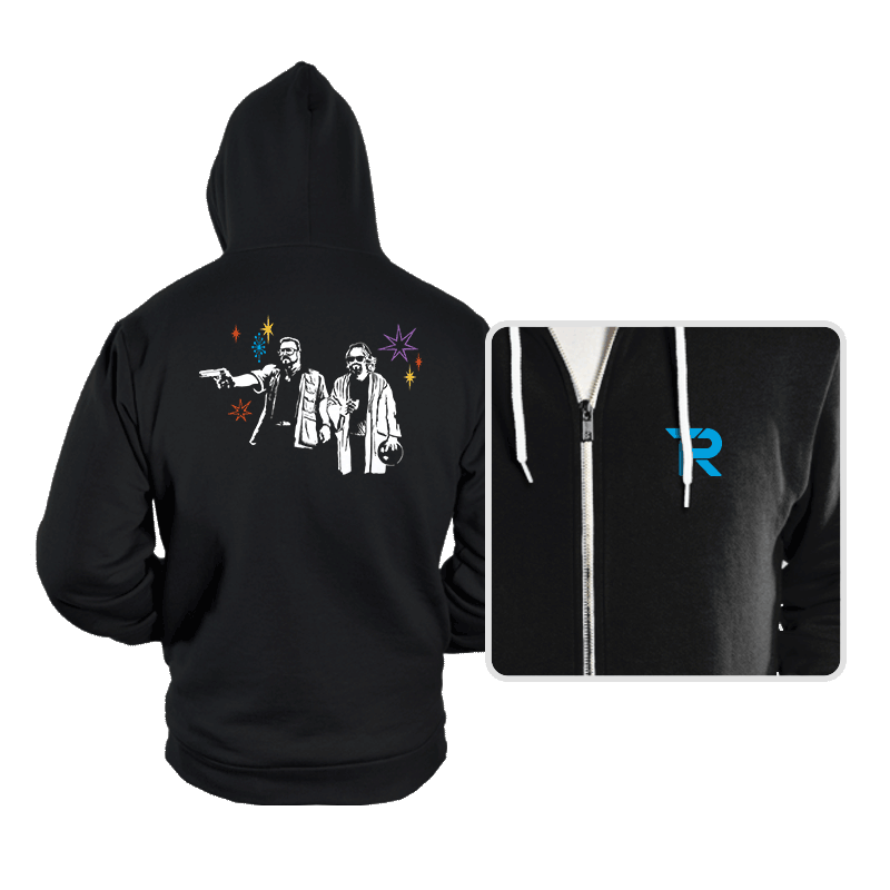 Dude Fiction - Hoodies - Hoodies - RIPT Apparel