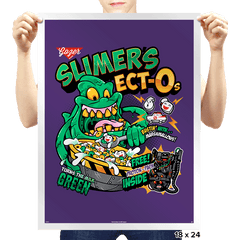 Slimer's Ect-Os - Prints - Posters - RIPT Apparel