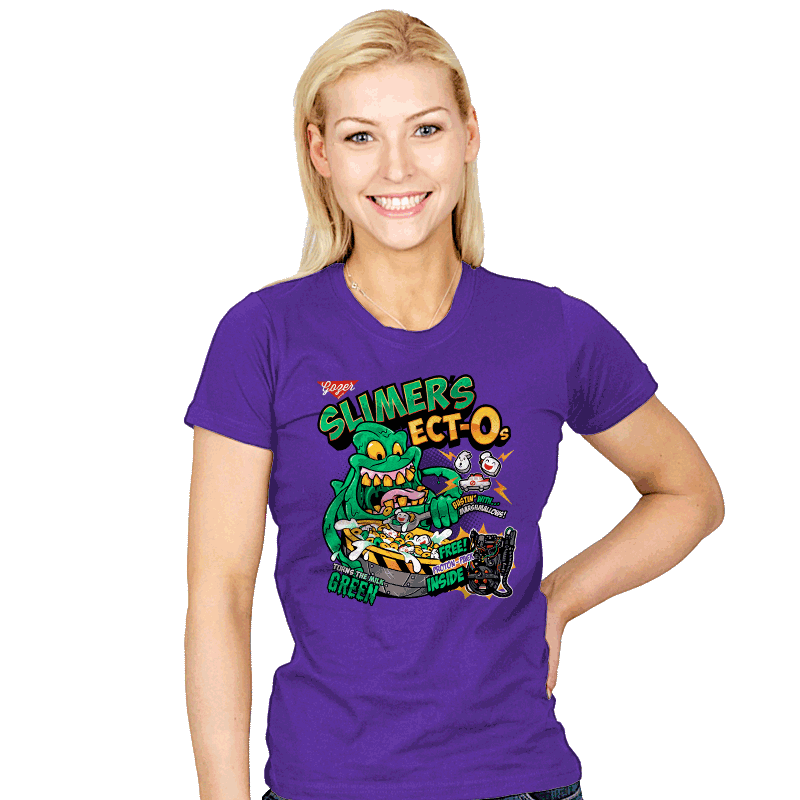 Slimer's Ect-Os - Womens - T-Shirts - RIPT Apparel