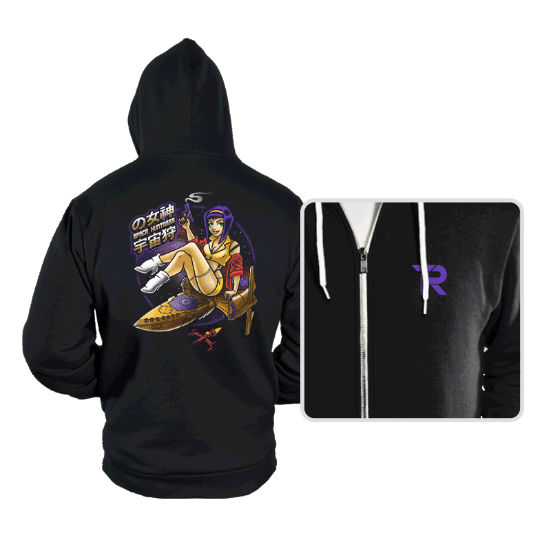 Space Huntress - Hoodies - Hoodies - RIPT Apparel