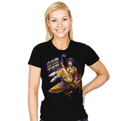Space Huntress - Womens - T-Shirts - RIPT Apparel