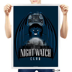 Night Watch - Prints - Posters - RIPT Apparel