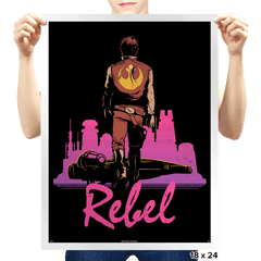 Rebel - Prints - Posters - RIPT Apparel