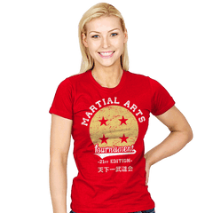 Martial Arts Tournament - Womens - T-Shirts - RIPT Apparel