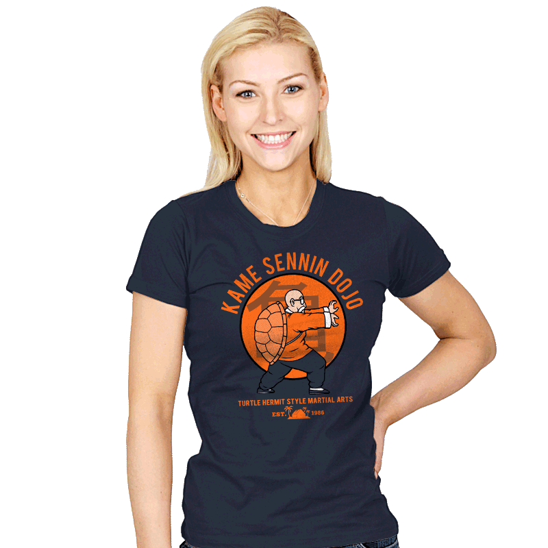 Kame Dojo - Womens - T-Shirts - RIPT Apparel
