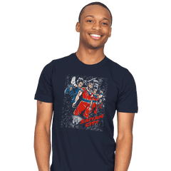 Saiyan City - Mens - T-Shirts - RIPT Apparel
