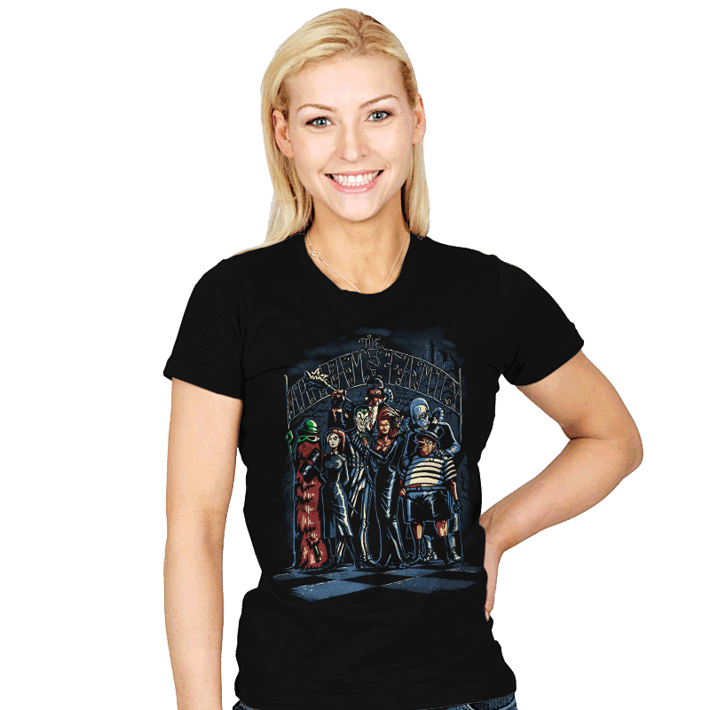 Arkham Family - Womens - T-Shirts - RIPT Apparel