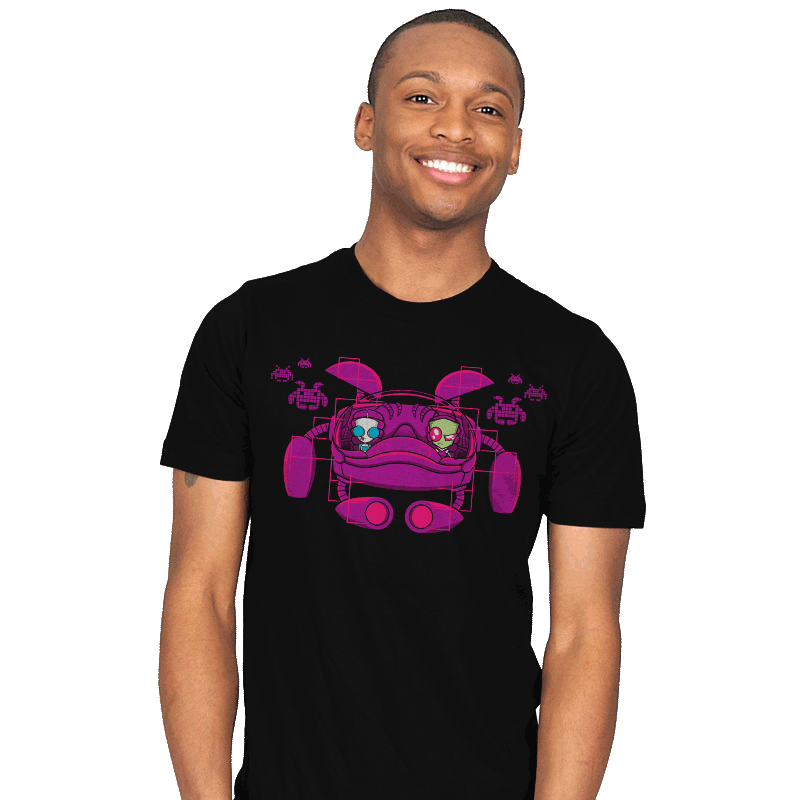 Space Zimvaders - Mens - T-Shirts - RIPT Apparel