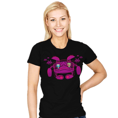 Space Zimvaders - Womens - T-Shirts - RIPT Apparel
