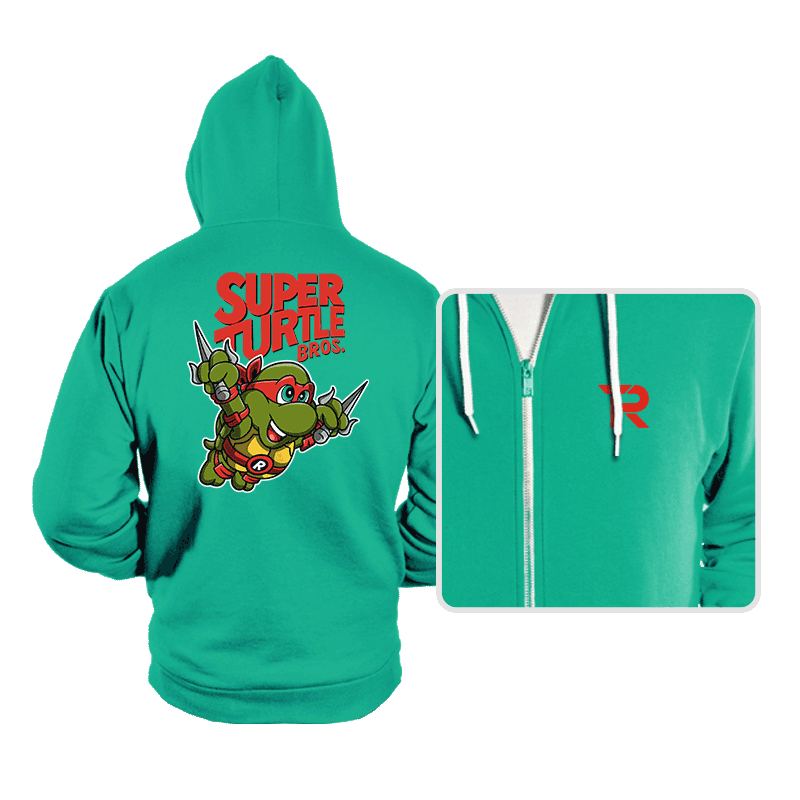 Super Turtle Bros. - Hoodies - Hoodies - RIPT Apparel