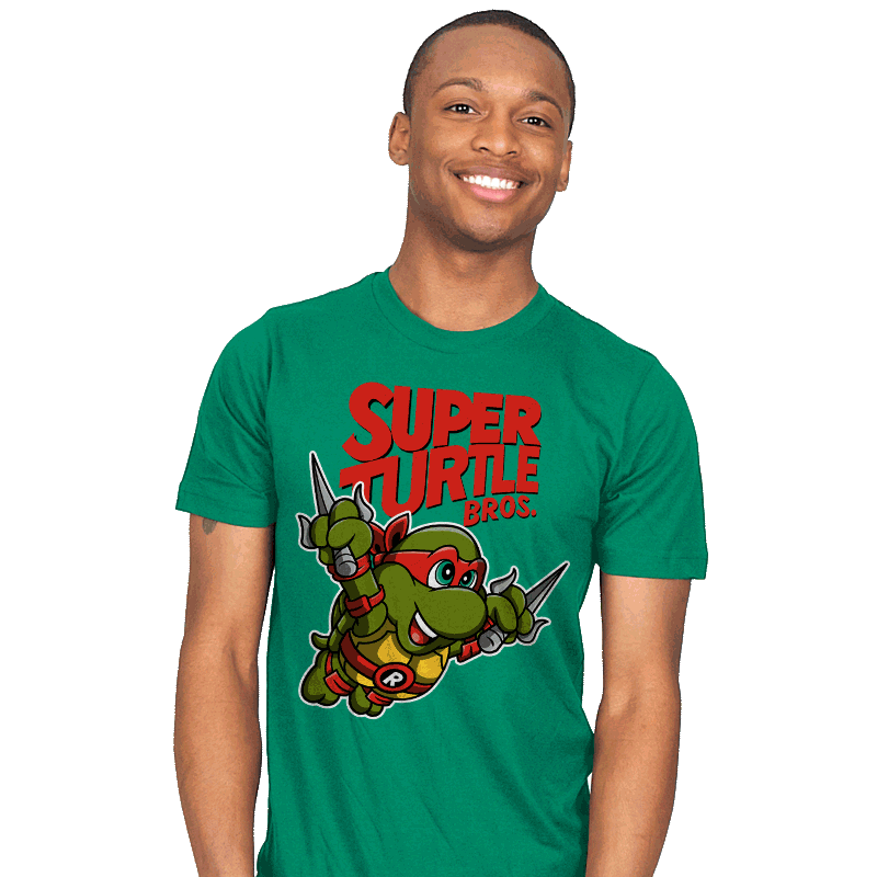 Super Turtle Bros. - Mens - T-Shirts - RIPT Apparel