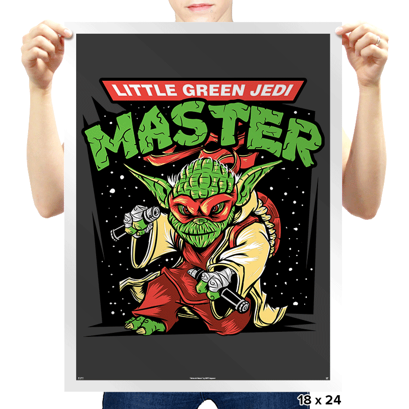 Ooze The Force - Prints - Posters - RIPT Apparel