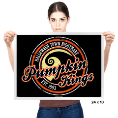 Pumpkin Kings - Prints - Posters - RIPT Apparel