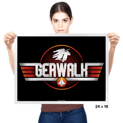 Gerwalk Mode - Prints - Posters - RIPT Apparel