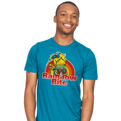 Rainbow Bite - Mens - T-Shirts - RIPT Apparel