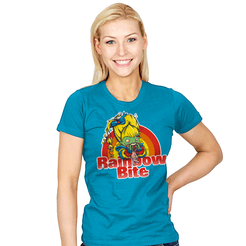 Rainbow Bite - Womens - T-Shirts - RIPT Apparel