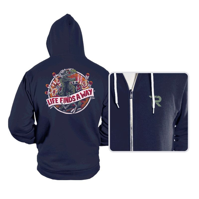 Life Finds A Way - Hoodies - Hoodies - RIPT Apparel