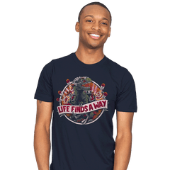 Life Finds A Way - Mens - T-Shirts - RIPT Apparel