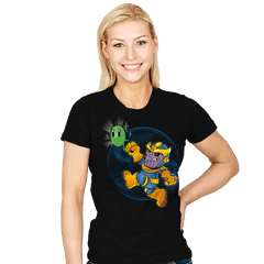 Super Villain - Womens - T-Shirts - RIPT Apparel