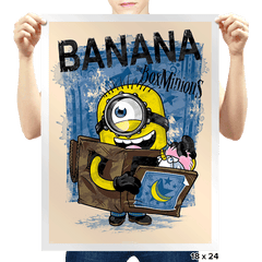 Box Minion - Prints - Posters - RIPT Apparel