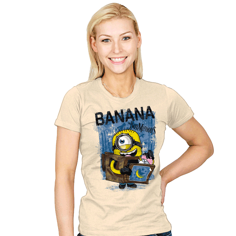 Box Minion - Womens - T-Shirts - RIPT Apparel