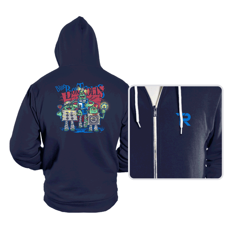 Blue Box Trolls - Hoodies - Hoodies - RIPT Apparel