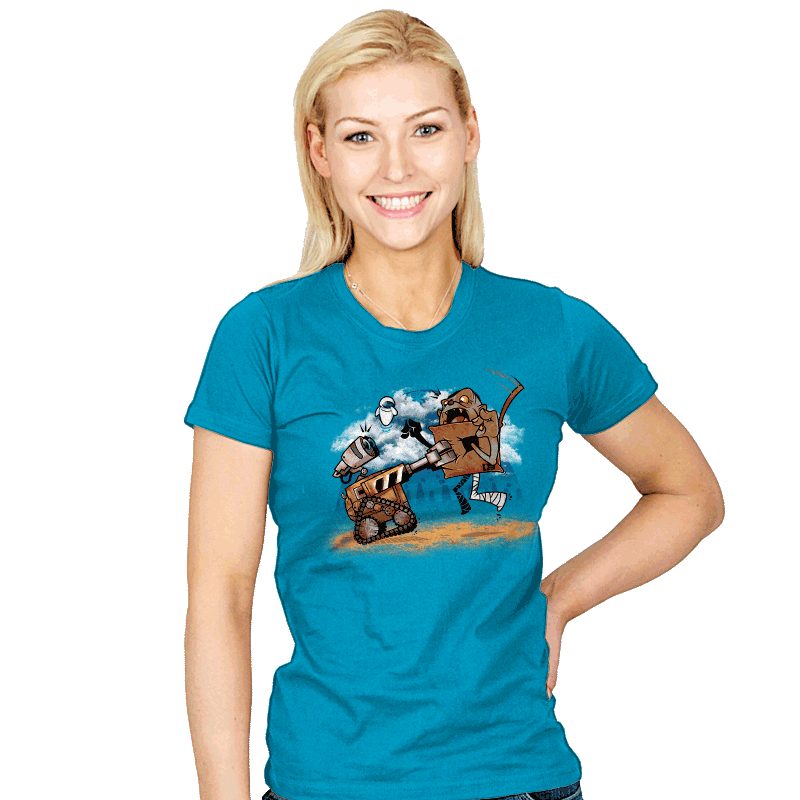 Troll-E - Womens - T-Shirts - RIPT Apparel