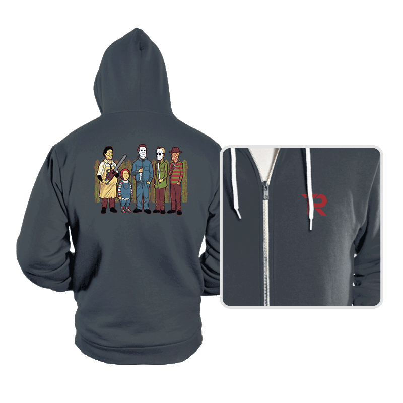King of the Horror - Hoodies - Hoodies - RIPT Apparel