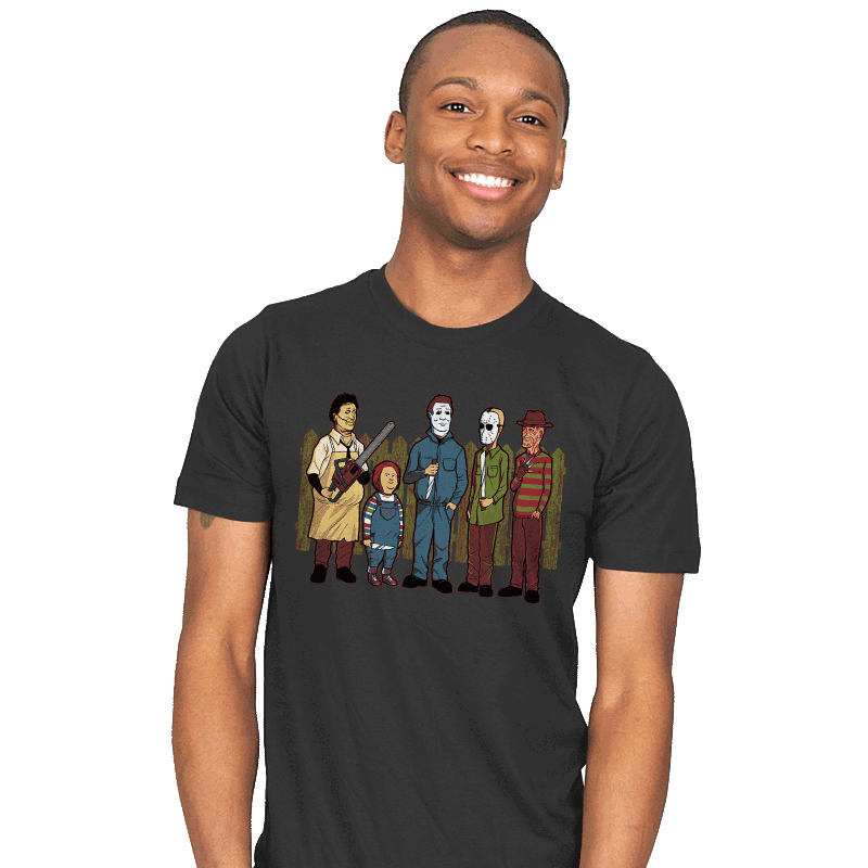 King of the Horror - Mens - T-Shirts - RIPT Apparel