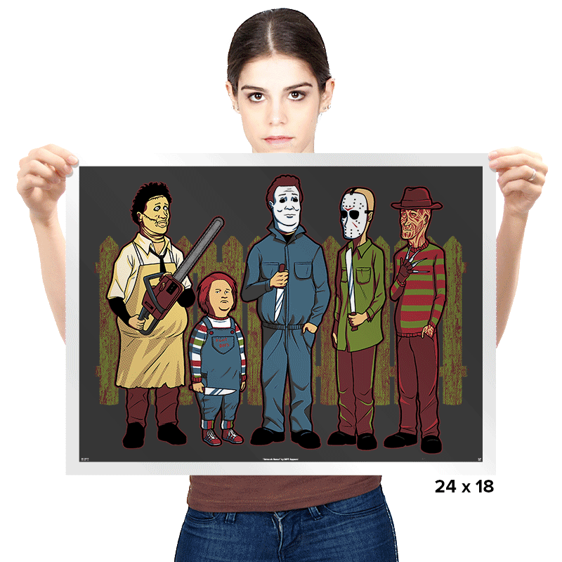 King of the Horror - Prints - Posters - RIPT Apparel