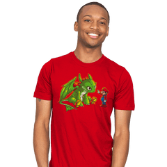 How to train your Yoshi - Mens - T-Shirts - RIPT Apparel