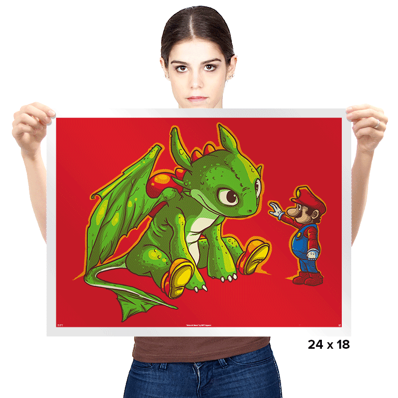 How to train your Yoshi - Prints - Posters - RIPT Apparel