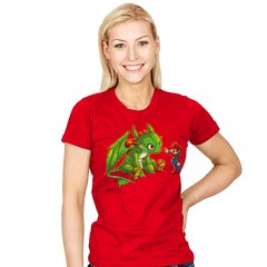 How to train your Yoshi - Womens - T-Shirts - RIPT Apparel