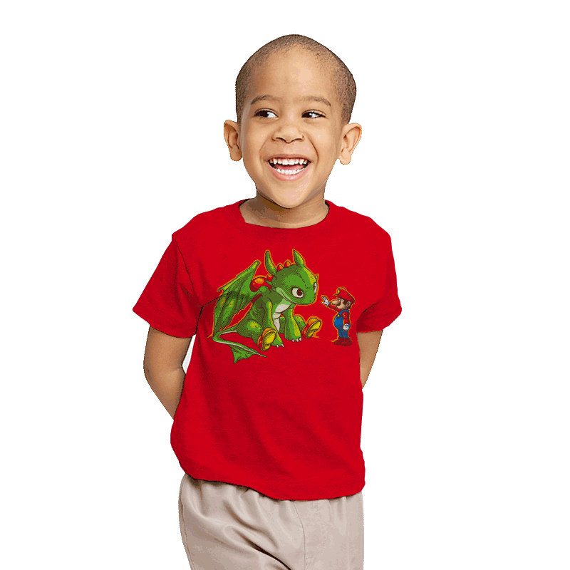 How to train your Yoshi - Youth - T-Shirts - RIPT Apparel
