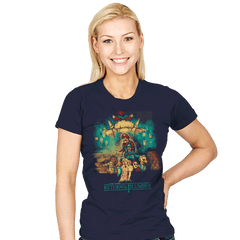 Return of the Plumber - Womens - T-Shirts - RIPT Apparel