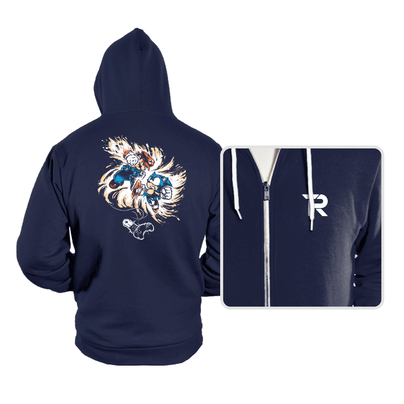 16 Bit Battle - Hoodies - Hoodies - RIPT Apparel