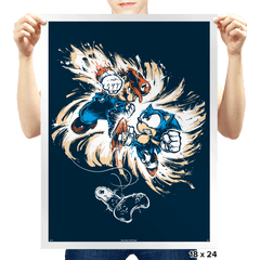 16 Bit Battle - Prints - Posters - RIPT Apparel