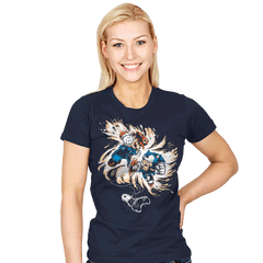 16 Bit Battle - Womens - T-Shirts - RIPT Apparel