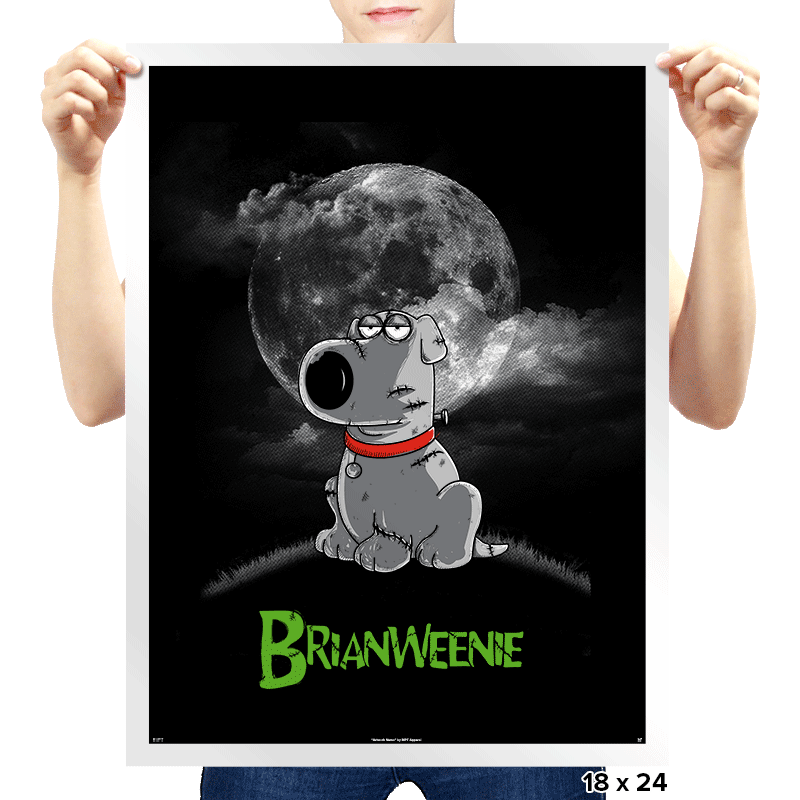 Brianweenie - Prints - Posters - RIPT Apparel