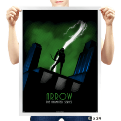 Arrow: The Animated Series - Prints - Posters - RIPT Apparel