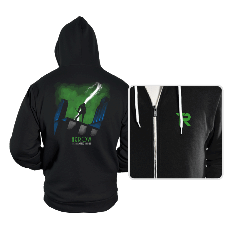 Arrow: The Animated Series - Hoodies - Hoodies - RIPT Apparel