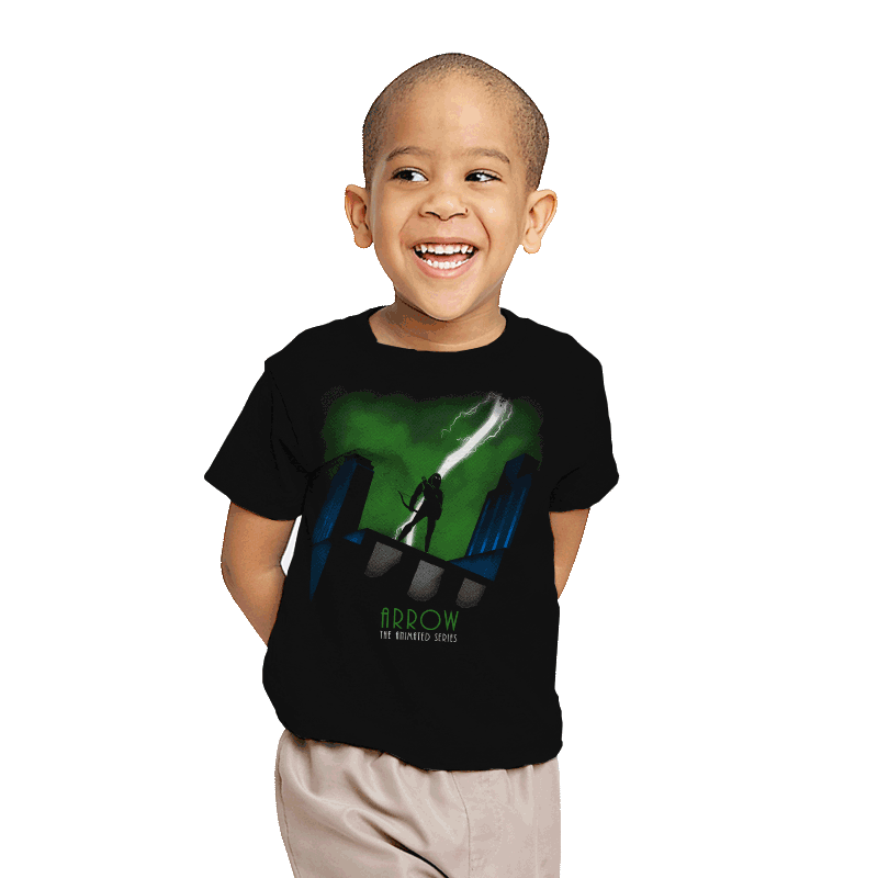Arrow: The Animated Series - Youth - T-Shirts - RIPT Apparel