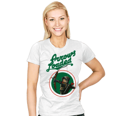Arrows Loaded - Womens - T-Shirts - RIPT Apparel
