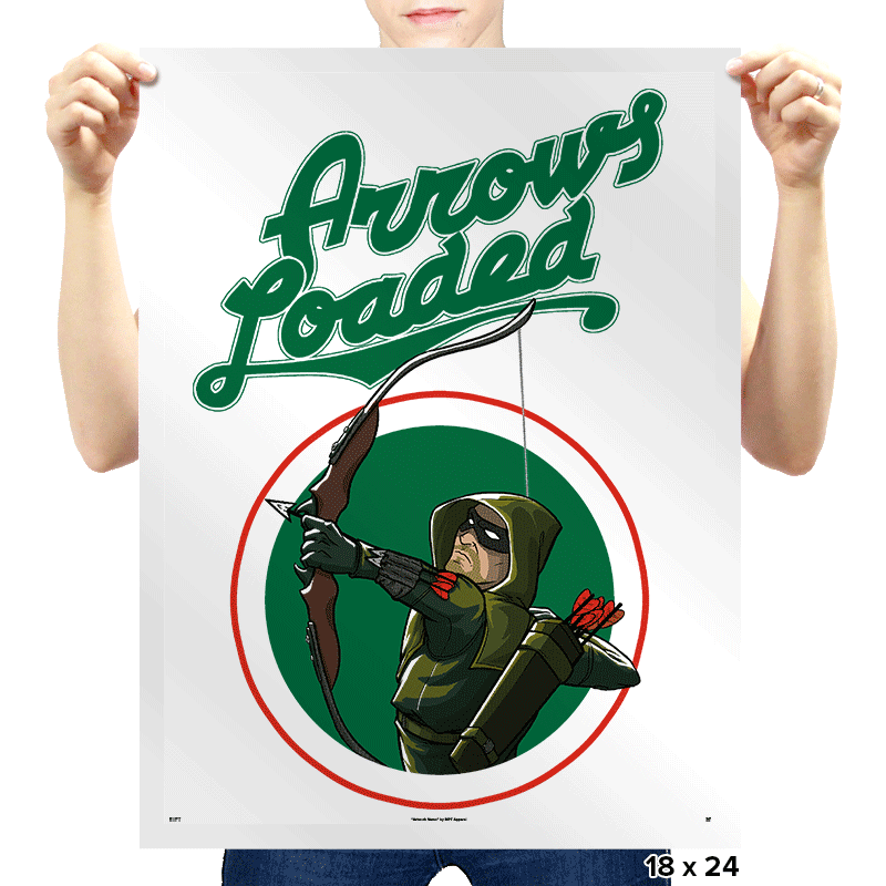 Arrows Loaded - Prints - Posters - RIPT Apparel