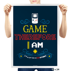 I Game - Prints - Posters - RIPT Apparel